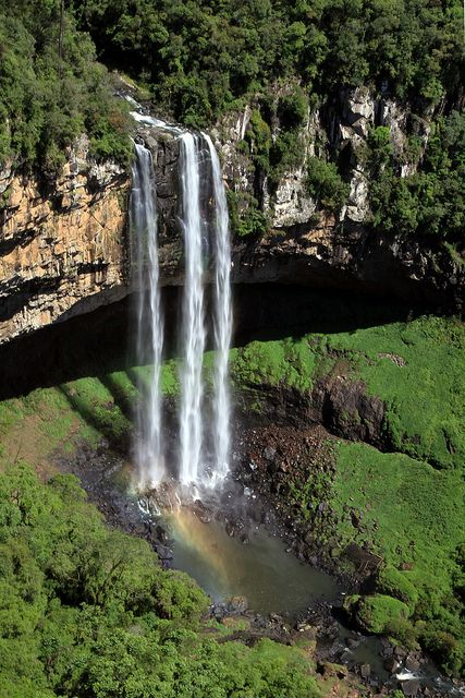 Cascata do Caracol - Brasil Serra Gaúcha, conheço, já passei várias vezes à caminho de Gramado