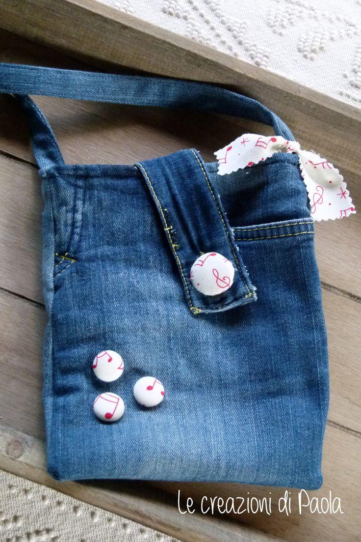 Tracolla da riciclo jeans