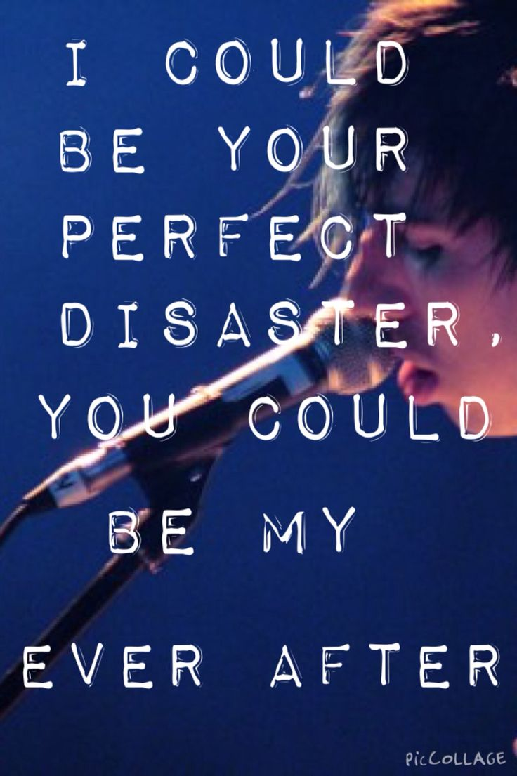 Mariana Trench song lyrics josh Ramsay singing {Credit: Anna Stath™}
