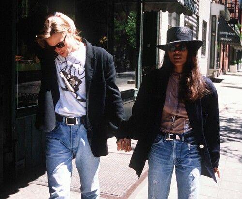 Brad Pitt and Robin Givens, 1989 ♡