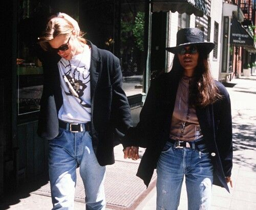 Brad Pitt and Robin Givens, 1989 ♡