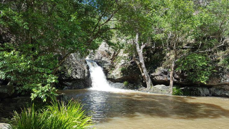 Rockpool at Kondalilla Falls.  Sunshine Coast hinterland. Montville. Queensland