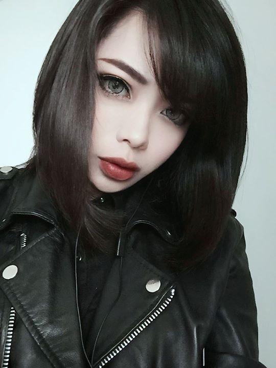 Wylona Hayashi  Makeup  Gothic Beauty, Goth Beauty, Goth -5631