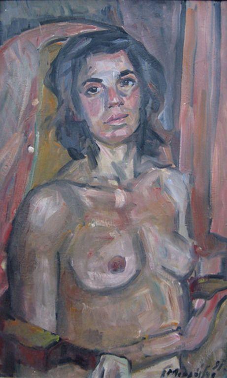 Margarita, 1990 by Giorgos Mavroidis (1912-2003)