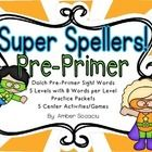 In this package you will find the 40 pre-primer Dolch sight words split into 5 levels. There are independent practice pages (which can be used as w...