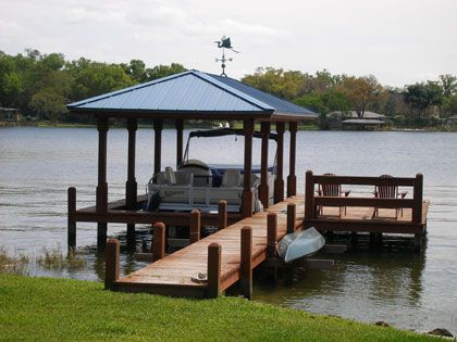 Basic boathouse with metal roof lake houses pinterest for Boat house floor plans