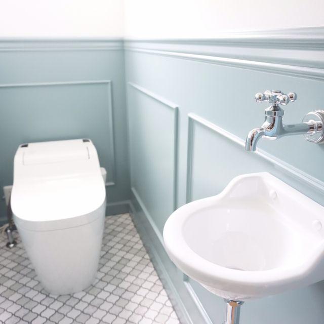mtokさんの、トイレ,腰壁,名古屋モザイク,コラベル,バス/トイレ,のお部屋写真