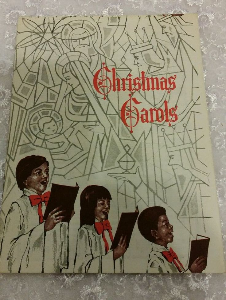 Vintage 1974 Christmas Carols Book by John Hancock Mutual Life Insurance Co.