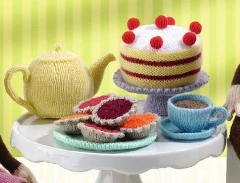 This afternoon tea.   The 25 Most British Things That Have Ever Been Knitted