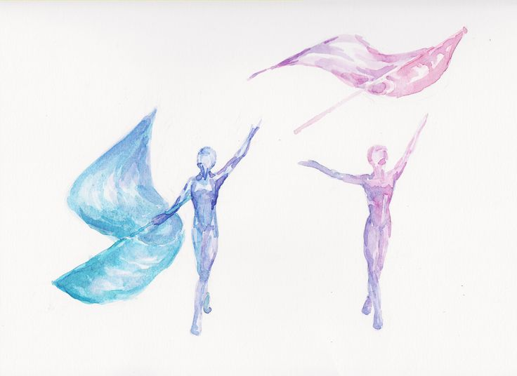 drawing winter guard flag - Google Search