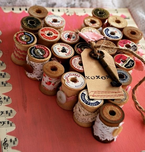 wooden spool craft ideas | Collect Collect this now for later
