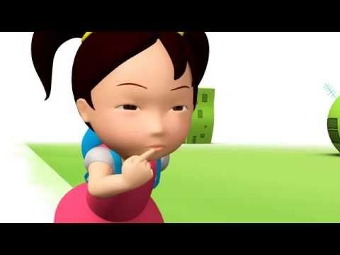 Miaomiao Chinese learning animation video 04 | Kids Game Channel