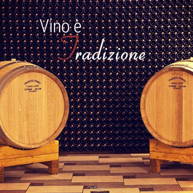 #ParoleDiVino Per noi il vino è soprattutto #tradizione: una storia, una passione e un'esperienza tramandata di generazione in generazione!