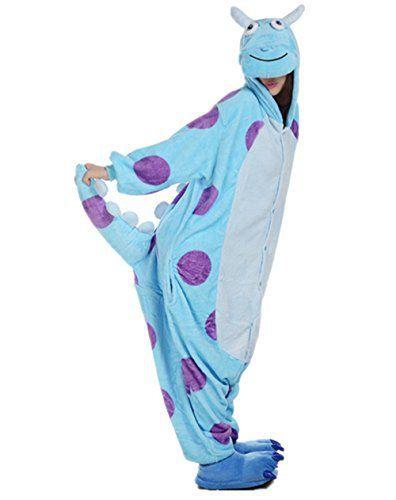 Padgene Pyjama Animaux Cosplay Halloween Déguisement Adulte Femme Homme Unisexe: Description Du Produit • Doux et confortable. Tout neuf et…
