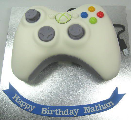 XBox Controller Boys Birthday Cake by www.carryscakes.com.au