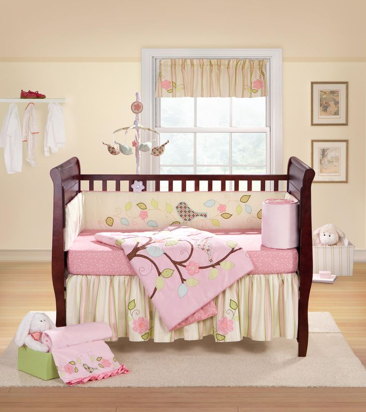 Love Bird Collection- baby girl nursery