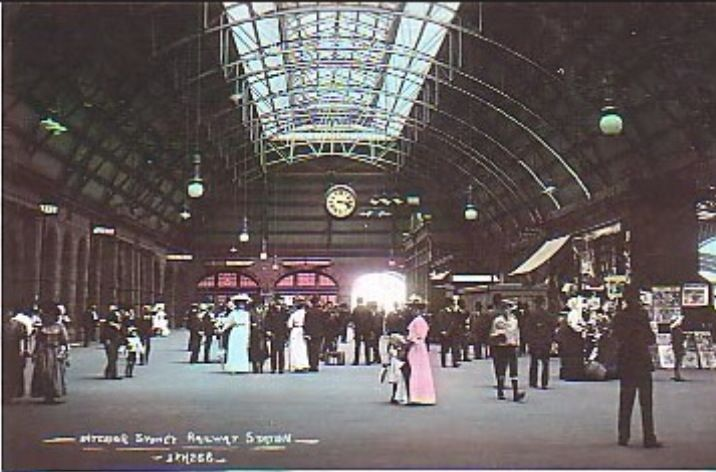 Central Station, Sydney . Early 1900's | Old historic ...