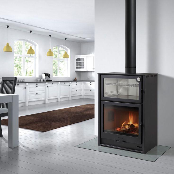 M s de 25 ideas incre bles sobre estufas de le a en pinterest - Adaptar chimenea para calefaccion ...