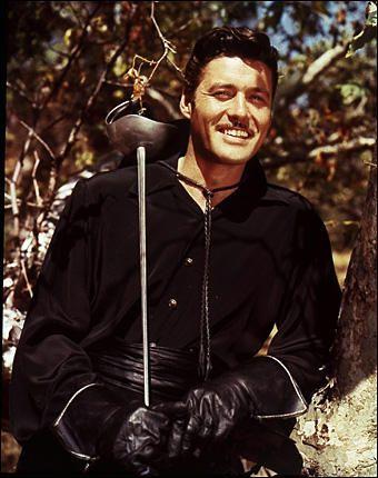 Guy Williams (1924-1989)   Don Diego de la Vega  in Zorro.