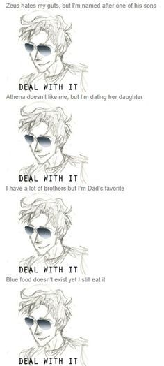 percy jackson deal with it - Google Search