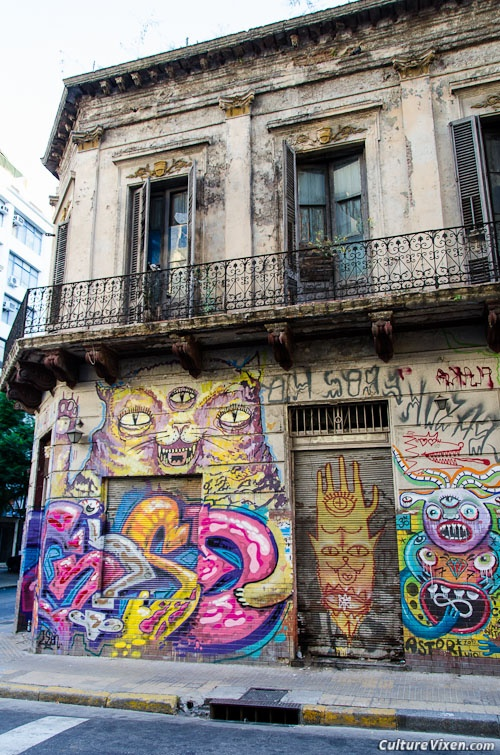 Crazy Buenos Aires Street Art, #Argentina
