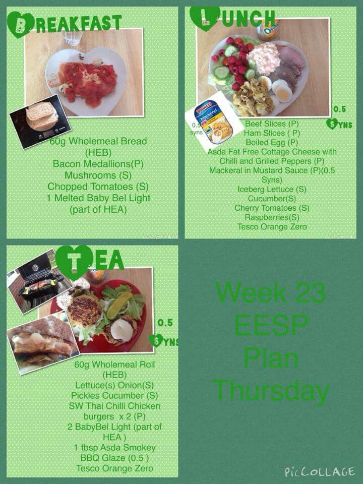 1000 Images About Sw Meal Plans On Pinterest The Secret
