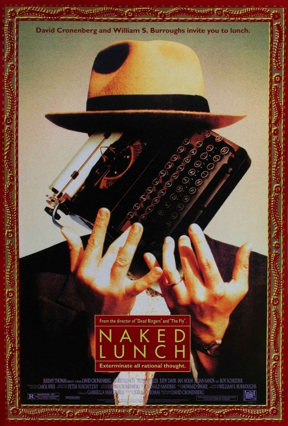 El almuerzo desnudo (Naked Lunch, 1991, David Cronenberg)