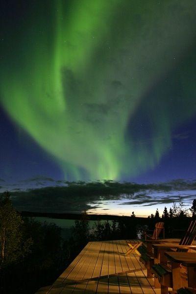 Saskatchewan, land of the living skies (aurora borealis or northern lights)