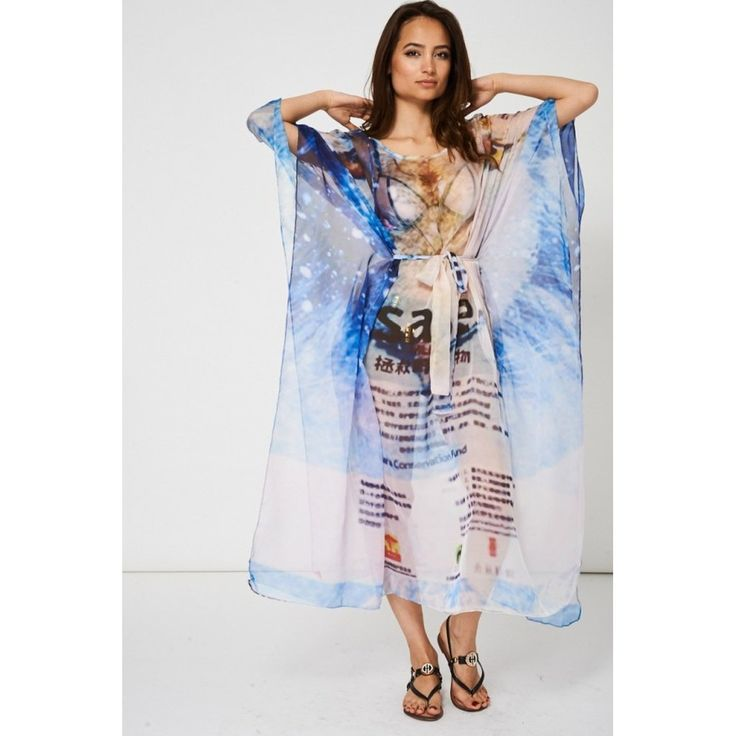 Sheer Wrap - Xs Mark the Spot by VIDA VIDA oV5KfU1ZIb