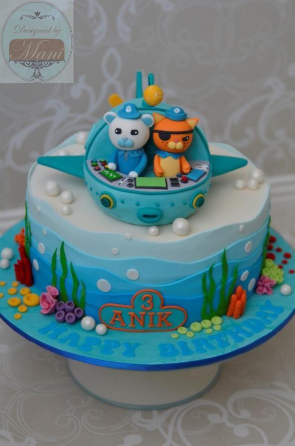 Octonauts Birthday cake - Cake by designed by mani