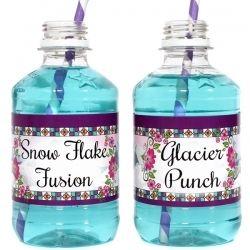 Disney Frozen Snow Queen Drink Labels