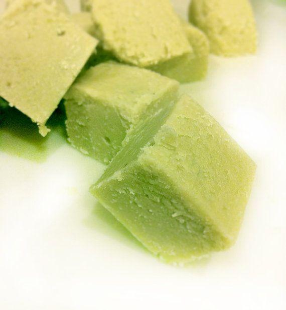 Creamy Organic Matcha Green Tea Vegan Fudge 8oz Gluten Free Casein Free Gourmet Kosher