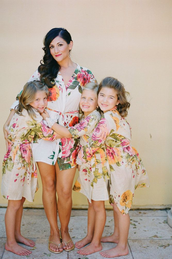 Beige Bridesmaids robes Kimono Crossover Robes Spa Wrap Perfect bridesmaids gift, getting ready robes, Bridal shower party wedding favors by silkandmore on Etsy https://www.etsy.com/listing/180620692/beige-bridesmaids-robes-kimono-crossover