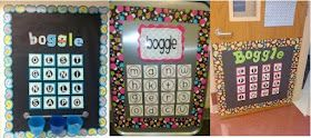 A Teacher's Bag of Tricks: Boggle Wall