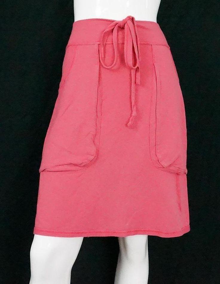 Rare Lululemon Knee Length Skirt Stretch Front Pull Cord  Pink sz 6 / 8 #Lululemon #StraightPencil