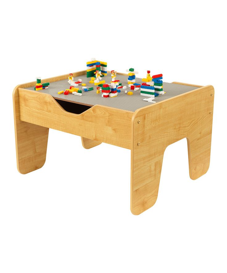 Look what I found on #zulily! KidKraft Natural Activity Play Table & Lego® Block Set by KidKraft #zulilyfinds