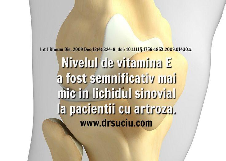 Vitamina E si artroza- drsuciu