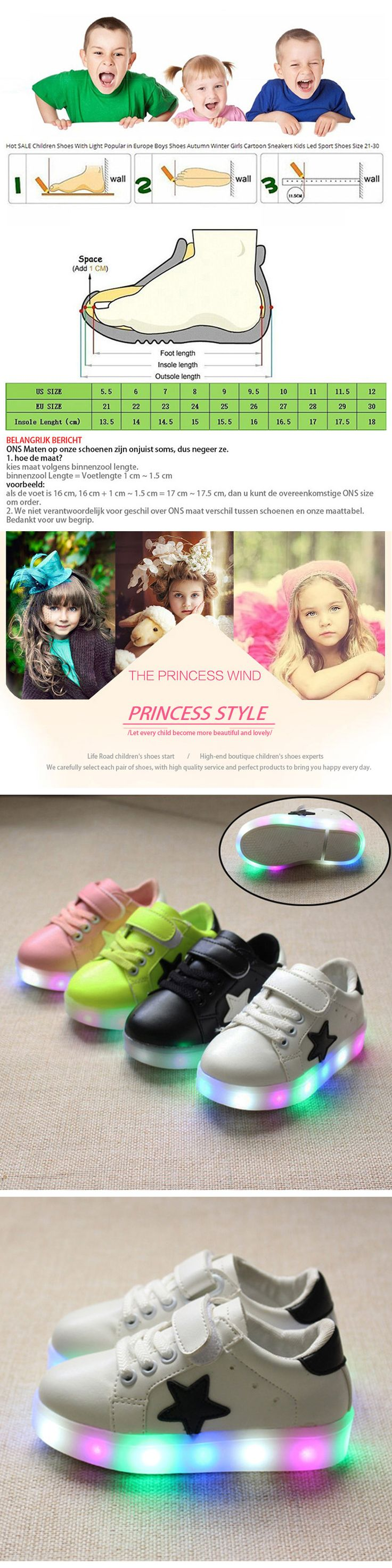 Cool Kids Sneakers Fashion Luminous Lighted Colorful LED lights Children Shoes Casual Flat Boy girl Shoes Luminous Sneakers infant - $ - Buy it Now!