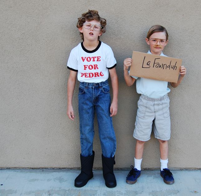 how to make a napoleon dynamite costume