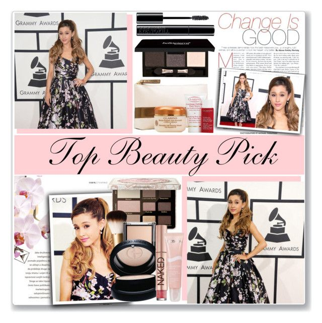 """""""Top Beauty Pick:Face Scrub With Ariana Grande"""" by antemore-765 ❤ liked on Polyvore featuring beauty, Dolce&Gabbana, Too Faced Cosmetics, H&M, Giorgio Armani, Urban Decay, Biotherm, Clarins, ArianaGrande and myfavorite"""