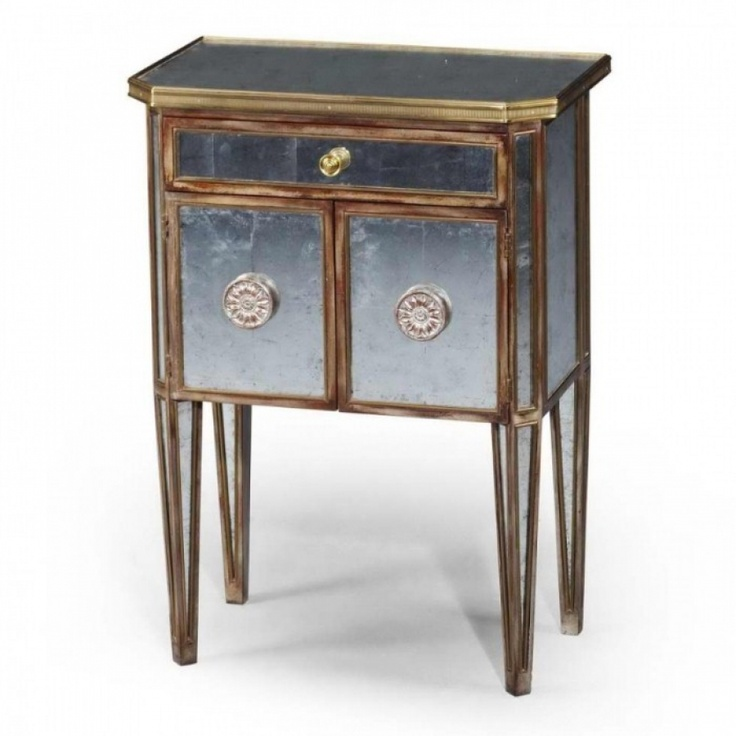 Best Hollywood Glam Mirrored Nightstand Gorgeous With 400 x 300