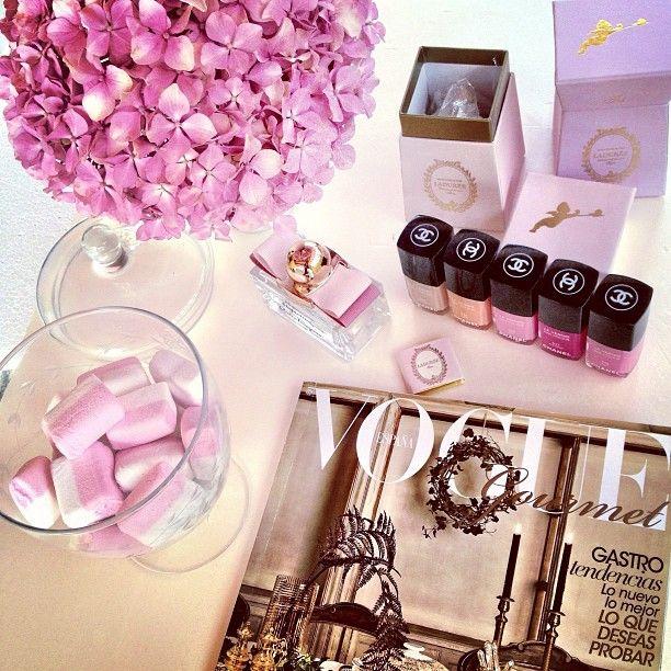 ♔ Paris, Prada, Pearls, Perfume
