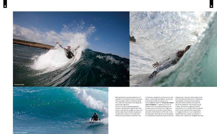 4SURF magazine - n°63 - Giovanni Cossu, Made In Sardinia - Testo Andrea Bianchi; Foto Andrea Bianchi e contributors - pag. 58-59