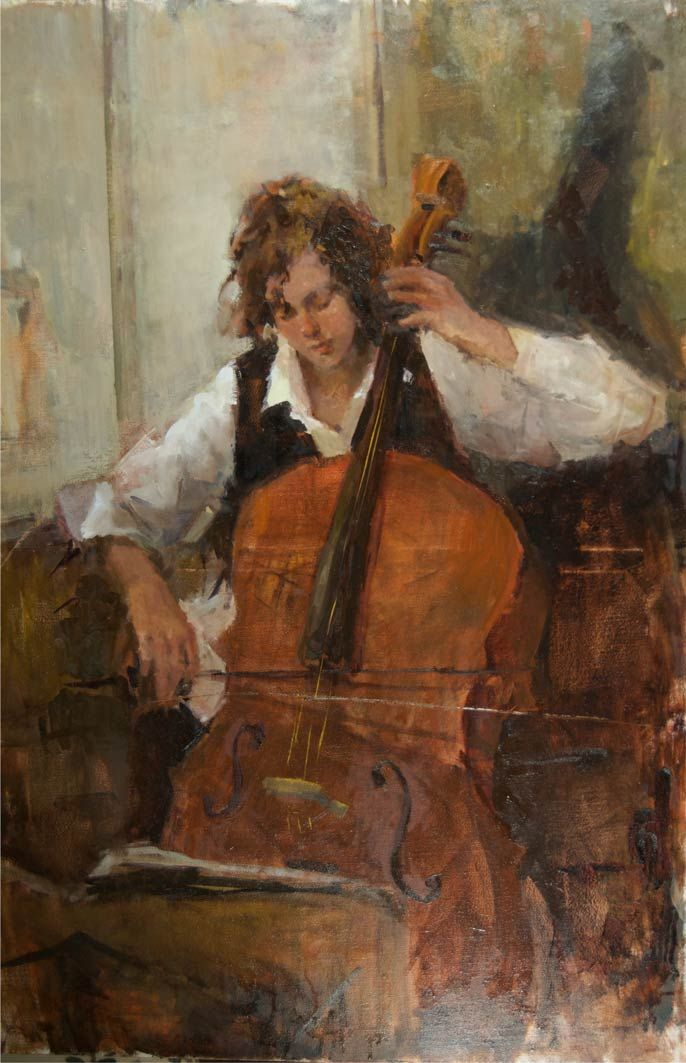 cello images in art | Displaying (20) Gallery Images For Cello Player...