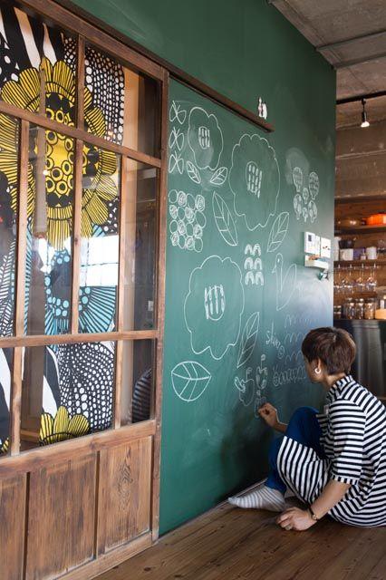 《リノベのトレンドvol.8》カフェ世代だから? 黒板塗装はハズせない|リノベーション情報サイト【リノベりす】