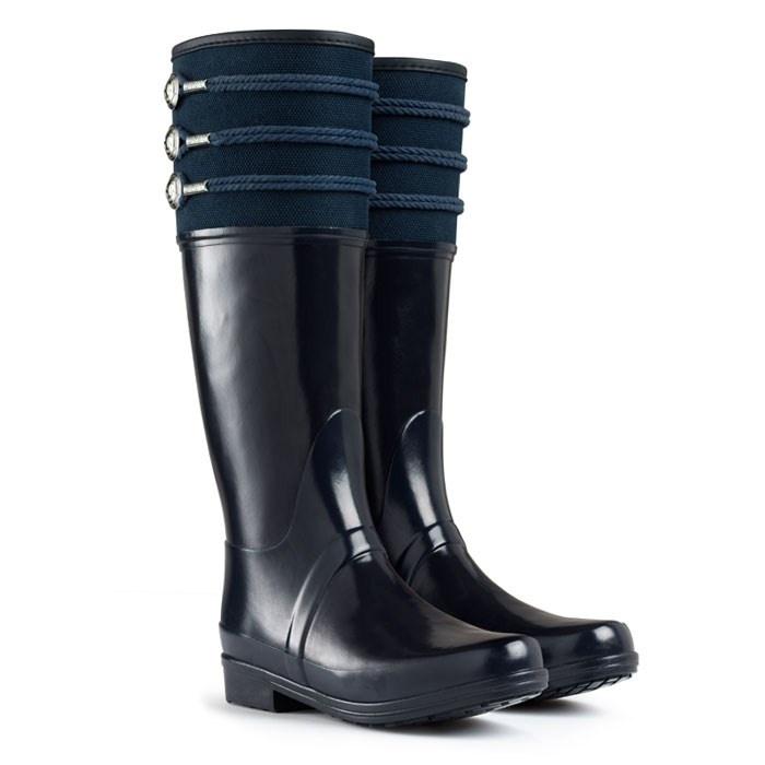Nautical Inspired Wellington Boots   Regent Earlton   Hunter Boot