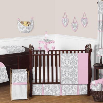 sweet jojo designs elizabeth crib bedding 2