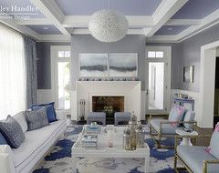 Mabley Handler , Getaway to the 2013 Holiday House Hamptons - Contemporary - Living Room - New York - Rikki Snyder