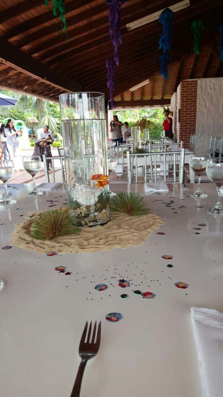 Centros de mesas que recrean lo lindo de nuestra naturaleza