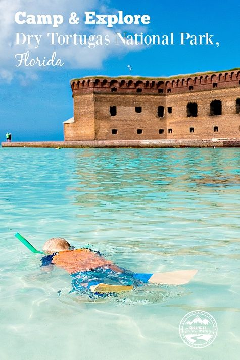 Camp and Explore Dry Tortugas National Park. Tips from CurrentlyWandering
